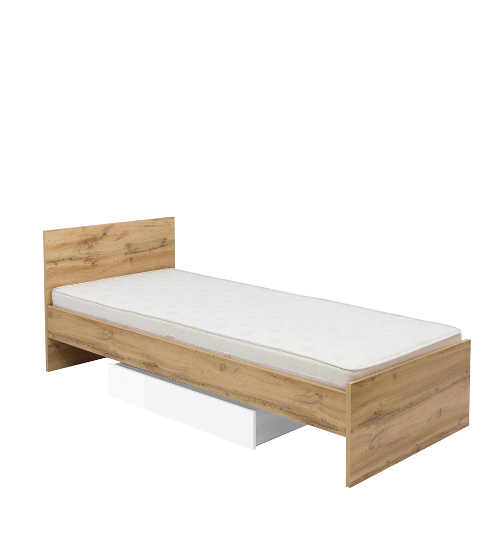 jednolůžková postel vhodná i do studentského pokoje