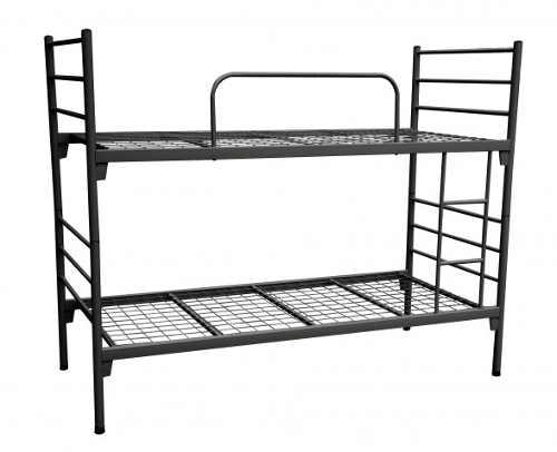 Levná kovová dvoupatrová postel
