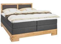 Luxusní dřevěná boxspring postel XXXLutz