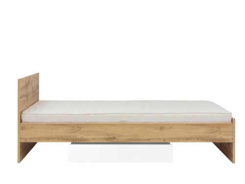 postel pro jednoho v klasickém provedení