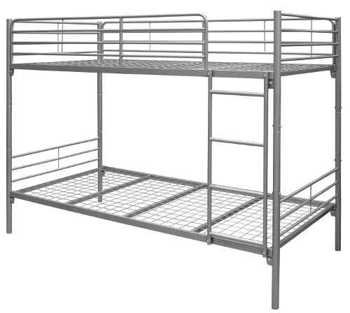 Celokovová poschoďová postel 90 x 200 cm