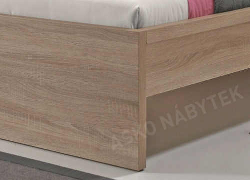 Konstrukce postele s možností nastavení výšky lůžka