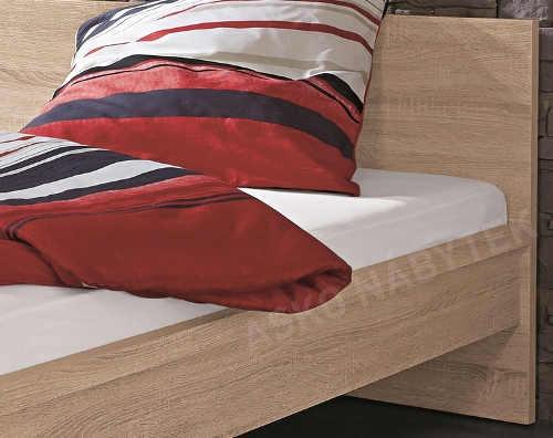Manželská postel dekor dub sonoma
