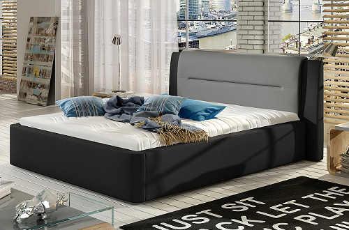 Velká moderní postel do studentského pokoje