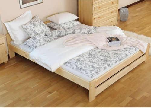 vyvýšená postel v různém dekoru