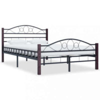 Kovová postel v impozantním provedení - různé rozměry