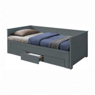 Rozkládací postel s praktickým úložným prostorem