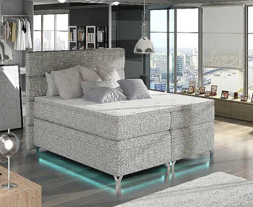 dvoulůžková moderní boxspring postel