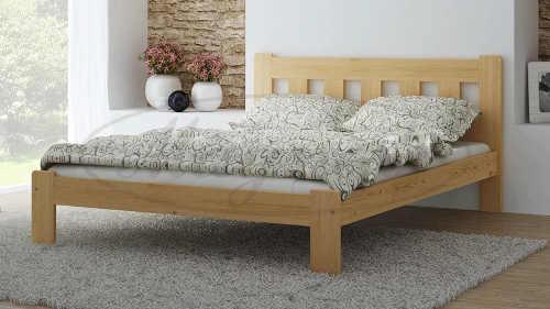 dvoulůžková postel v klasickém provedení