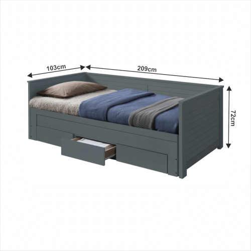 moderní a praktická rozkládací postel