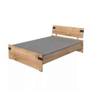 Kvalitní dvoulůžková postel v minimalistickém provedení