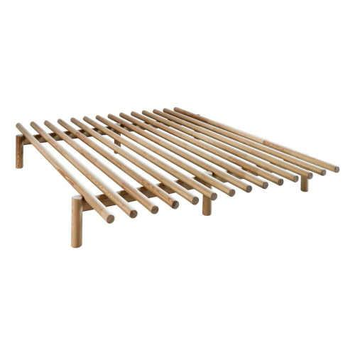 Rám postele z borovicového dřeva o rozměru 160x200 cm