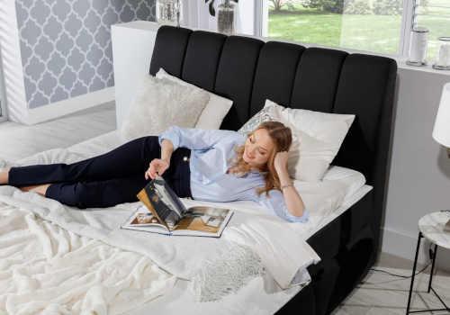 čalouněná postel v elegantním provedení