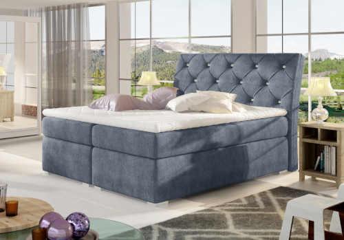 manželská postel s roštem i matrací