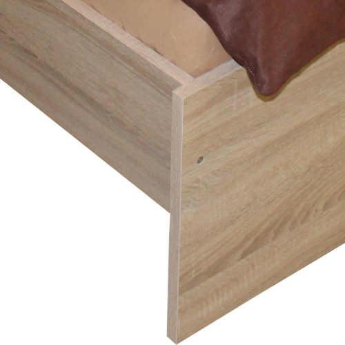 manželská postel v klasickém designu 160x200 cm