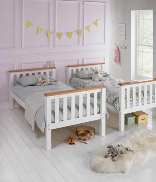 patrová postel rozložitelná na 2 lůžka