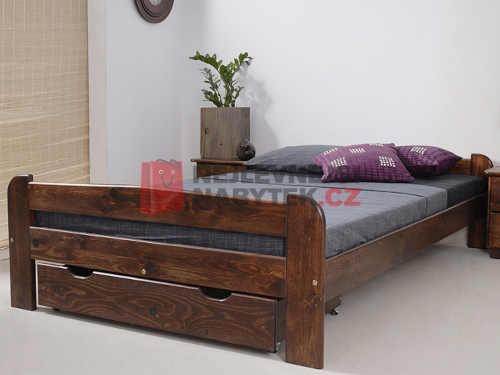 postel 120x200 cm ruční výroba