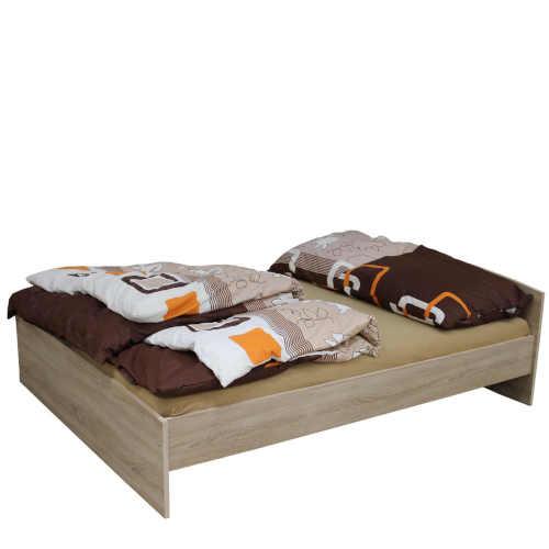 postel dekor dub 160x200