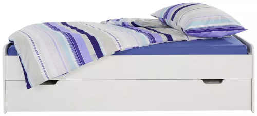postel maxi o rozměru 90x200 se zásuvkou