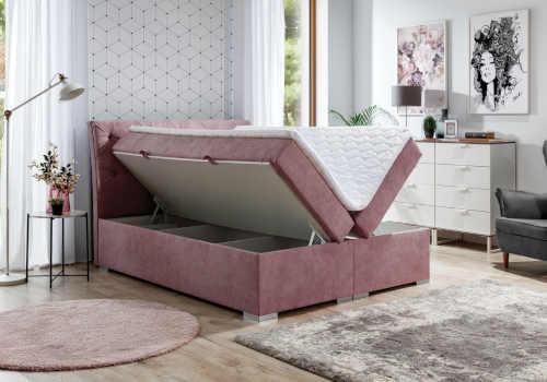 praktická moderní kontinentální postel