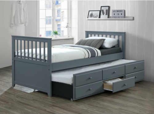 praktická postel rozkládací s úložným místem