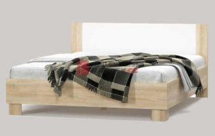 Dvoulůžková postel o rozměru 180x200 cm v moderním dekoru
