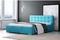 Čalouněná postel o rozměru 180x200 cm v elegantním stylu