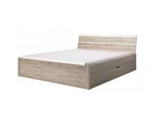 Dřevěná postel o rozměru 180x200 cm s úložným prostorem