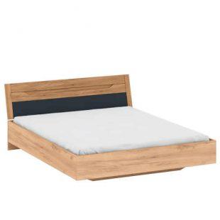 Kvalitní manželská postel 160x200 cm v moderním dekoru