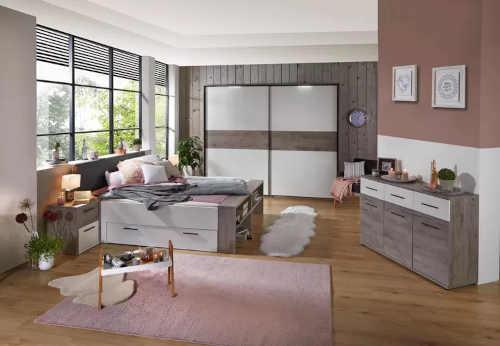 manželská postel s úložným místem