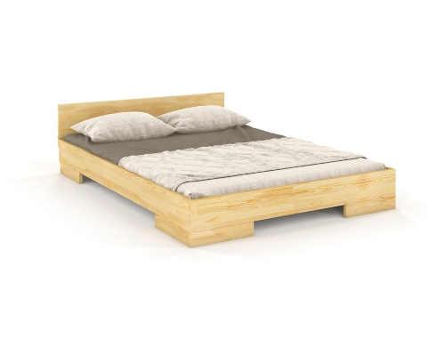 dvoulůžková postel ve skandinávském stylu