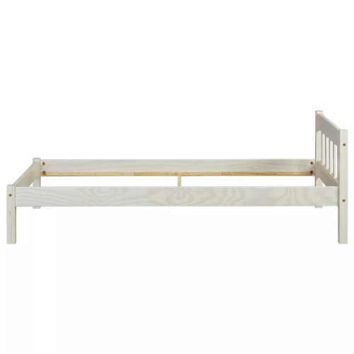 postel jednolůžková v přírodním dekoru