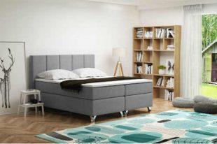 Čalouněná postel 180x200 cm s úložným prostorem