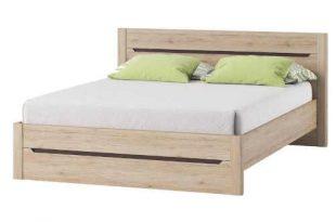 Dvoulůžková postel 160x200 cm v klasickém provedení